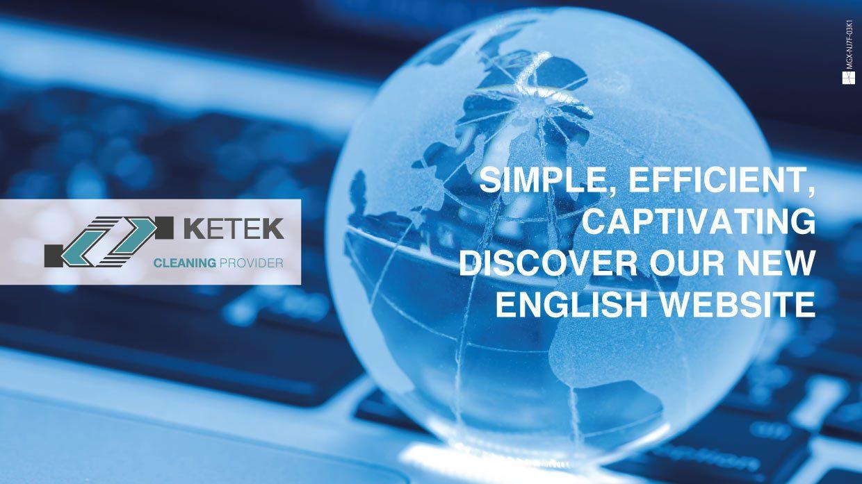Ketek presents: the new English site!